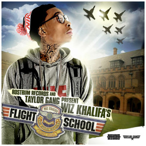 Wiz Khalifa Flight School cover
